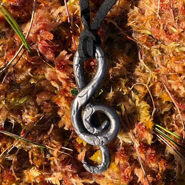 Iron Treble Clef